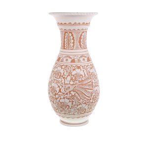 Vaza de ceramica alba de Corund 57 cm
