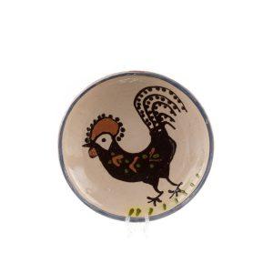 Farfurie din ceramică de Horezu 16 cm - Modele specifice ceramicii de Horezu