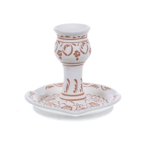 Sfesnic ceramica alba de Corund 11 cm Model 2