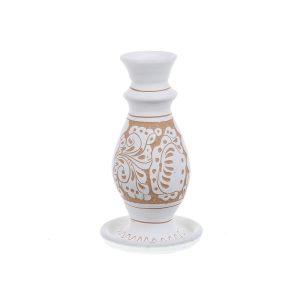 Sfesnic ceramica alba de Corund 15 cm