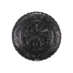 Farfurie traditionala ceramica neagra de Corund 20 cm