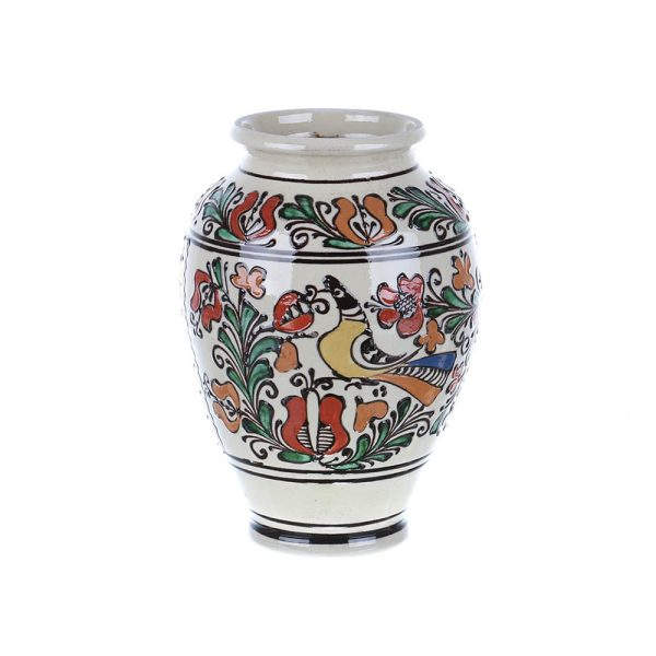 Vaza de ceramica Colorata de Corund 22 cm