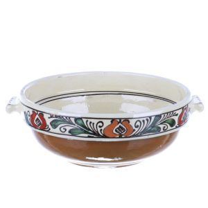 Castron cu manere ceramica traditionala Corund 20 cm