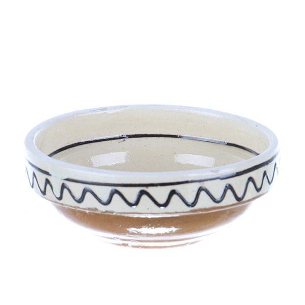 Castronel ceramica traditionala Corund 10 cm