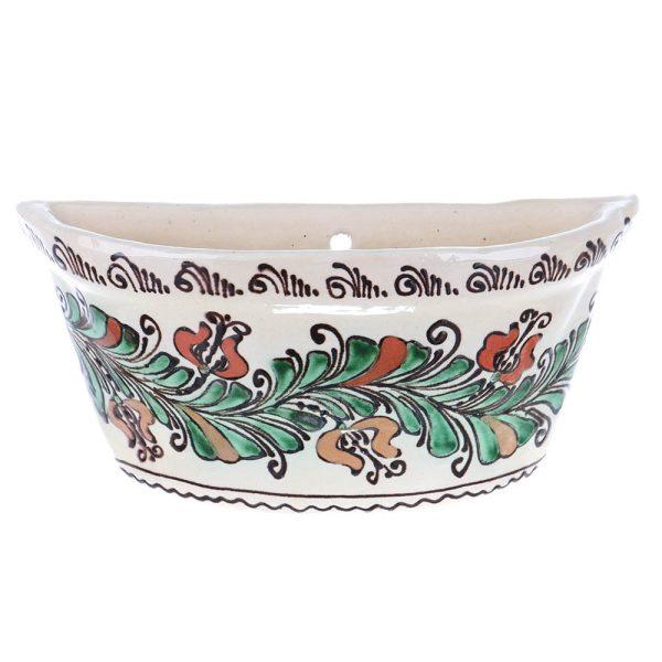 Vas aromaterapie agatat calorifer ceramica traditionala Corund