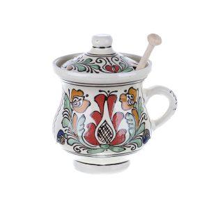 Vas Miere ceramica colorata Corund 500 ml