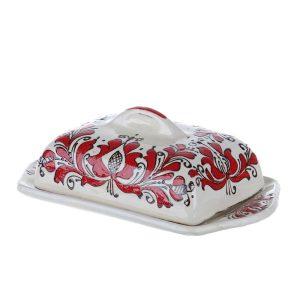 Untiera ceramica rosie de Corund