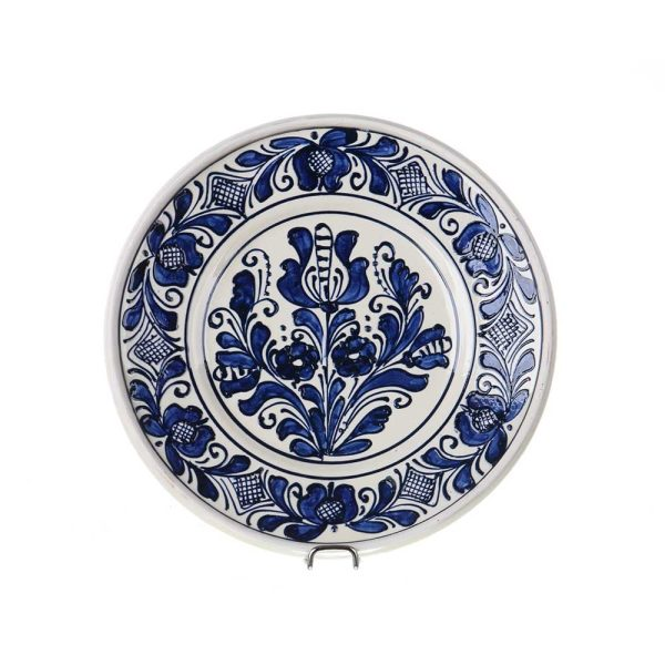 Farfurie adanca ceramica albastra de Corund 21 cm