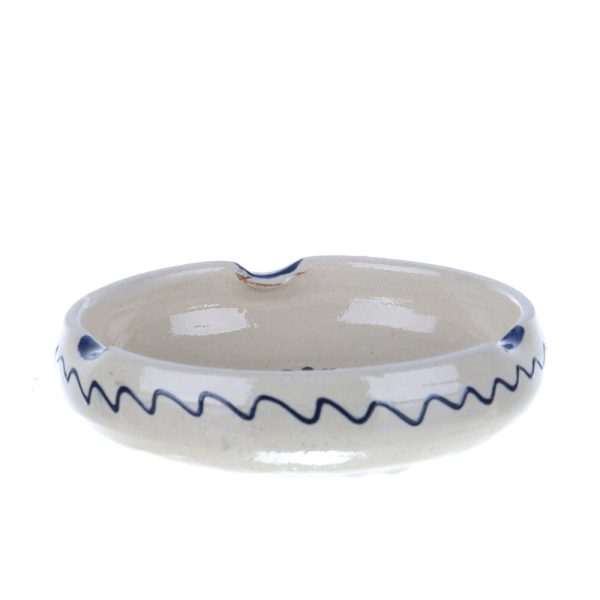 Scrumiera ceramica albastra de Corund 12 cm