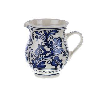 Carafa de vin ceramica albastra de Corund 750 ml