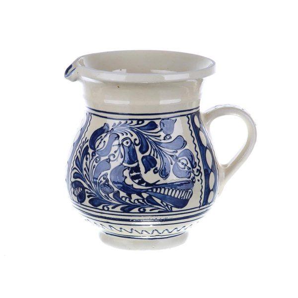 Carafa de vin ceramica albastra de Corund 1 l