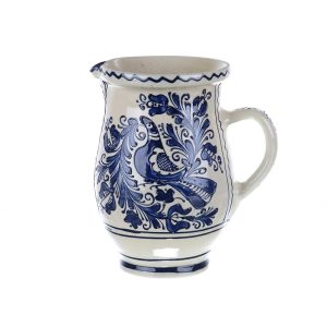 Carafa de vin ceramica albastra de Corund 1,5 l