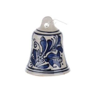 Clopotel din ceramica albastra de Corund