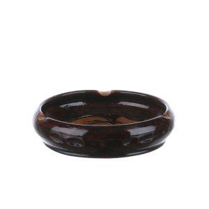 Scrumiera ceramica maro de Corund 12 cm