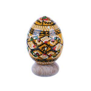Ou de Paste din lemn pictat manual diverse modele specific Bucovina