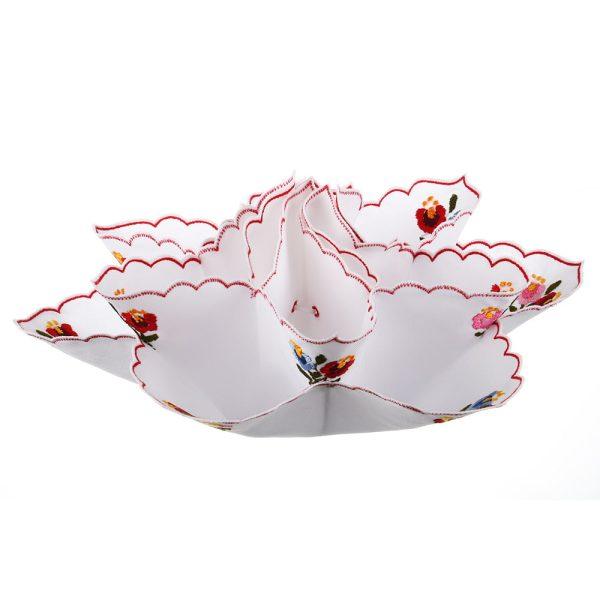 Suport oua de paste material textil - crem