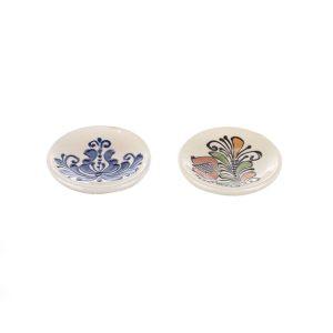 Magnet frigider farfurii ceramica Corund