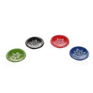 Magnet frigider farfurii decorative colorate Romanesti
