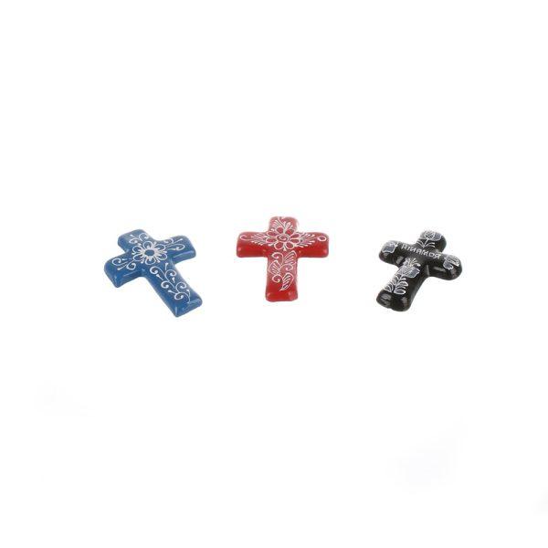 Magnet frigider cruciulite motive traditionale