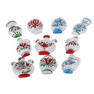 Magnet frigider vase traditionale decorative Corund