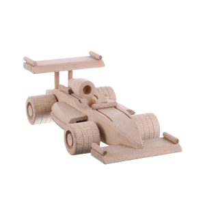 Jucarie din lemn masina Formula 1