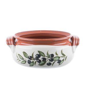Oală din ceramică smalț alb pentru cuptor 2,5 l, 4 l, 5,5 l, 6,5 l