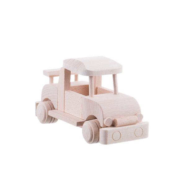 Jucărie din lemn masină lemn masiv