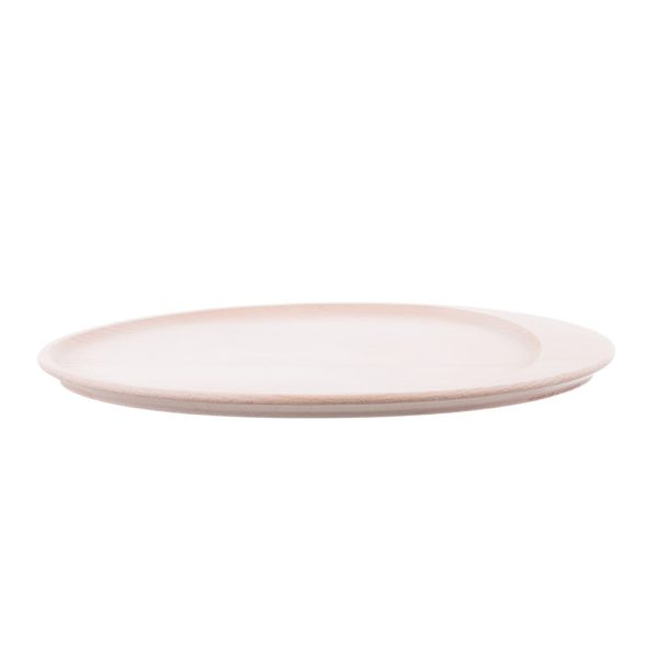 Platou oval pentru servit din lemn