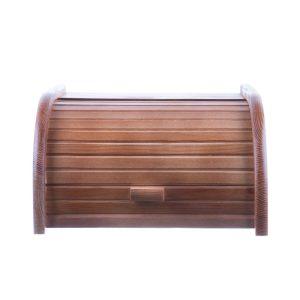 Dulăpior din lemn pentru pâine model 1 maro