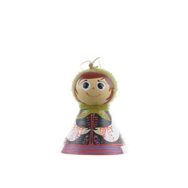 Clopoțel din ceramică pictat manual baiat / fetita