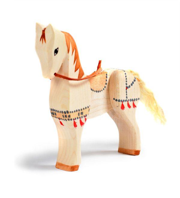 Jucarie Calul de Lupta BumbuToys, din lemn