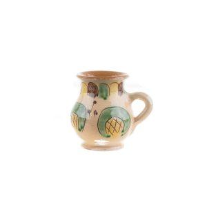 Cană de țuică sau vișinată ceramică Kuty Botoșani 50 ml