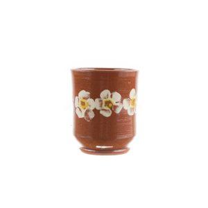 Cană din ceramică Kuty Botoșani model floral 250 ml