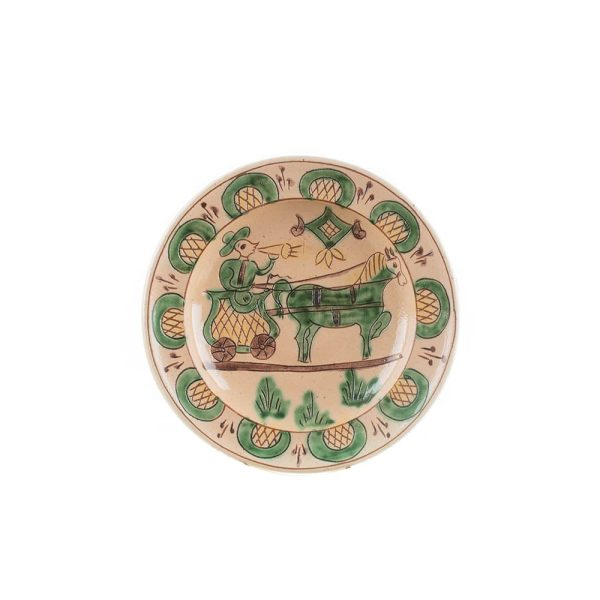 Farfurie ceramică Kuty Botoșani 20 cm
