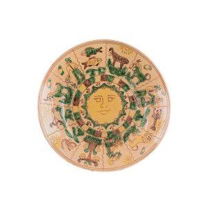 Farfurie ceramică Kuty Botoșani model Zodiac 27 cm