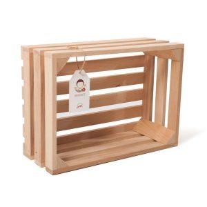"""Lădiță din lemn de fag 35 x 25 x 14 cm """"Dragobete"""""""