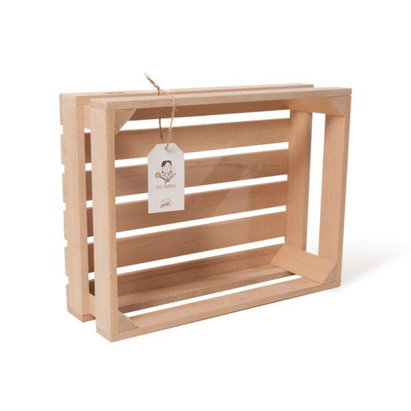"""Lădiță din lemn de fag 40 x 30 x 13 cm """"Fat Frumos"""""""