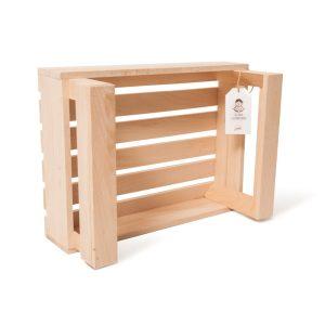 """Lădiță din lemn de fag 40 x 30 x 18 cm """"Cosanzeana"""""""