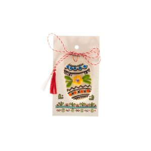 Martisor handmade cu motive traditionale