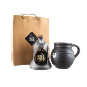 Pachet cadou ceramică neagră de Marginea