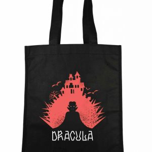 Traistă Dracula negru roșu