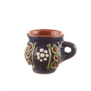 Cana pentru tuica din ceramica Bledea Baia Mare