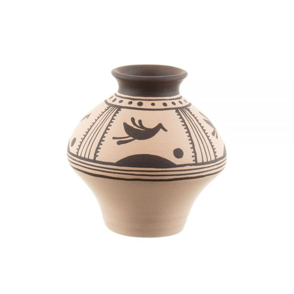 Vas ornamental tip vază din ceramica Cucuteni Alena Stoica