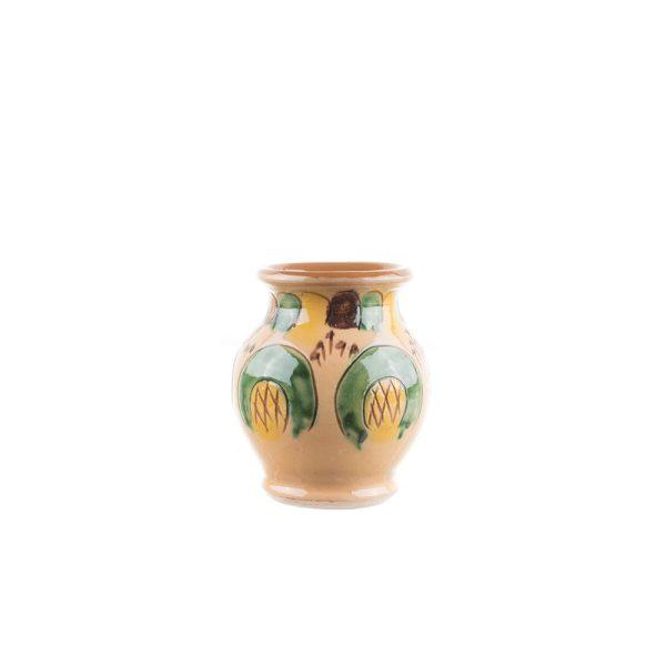 Vază ceramică Kuty Botoșani diametru 7 cm