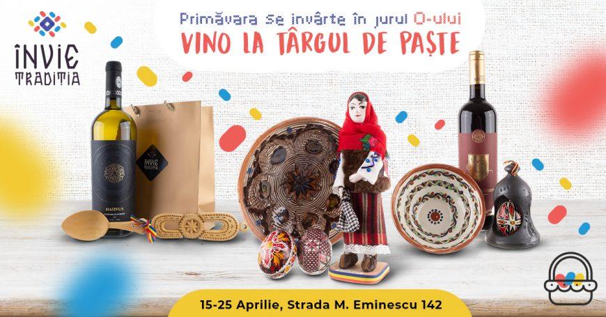 Târgul de Cadouri de Paște: reÎnvie Tradiția Produselor Tradiționale Create de Meșteri și Artizani Români
