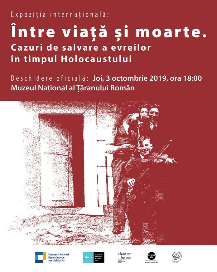 Între viață și moarte. Cazuri de salvare a evreilor în timpul Holocaustului | 3–19 octombrie 2019